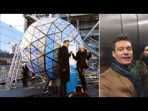 Ryan Seacrest Gets Stuck In Times Square Elevator Just Before NYE Special