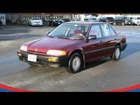 pre owned 1989 honda civic marysville wa youtube