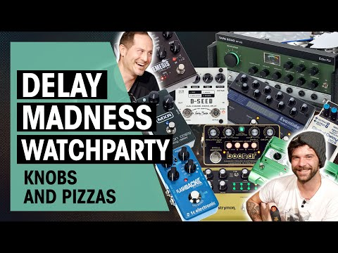 LIVE Interactive Delay Pedal Testing | Thomann