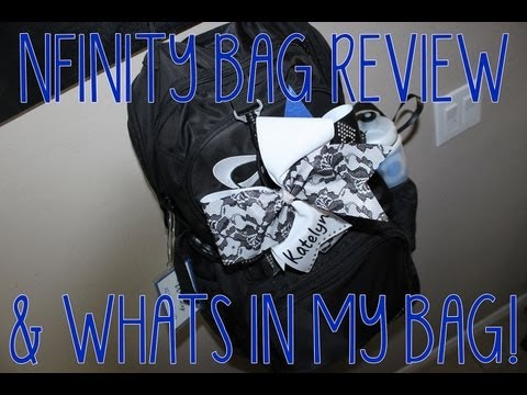 Nfinity Cheer Backpack Review & Whats In My Bag!