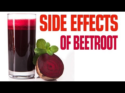 7 Side Effects Of Beetroot Juice