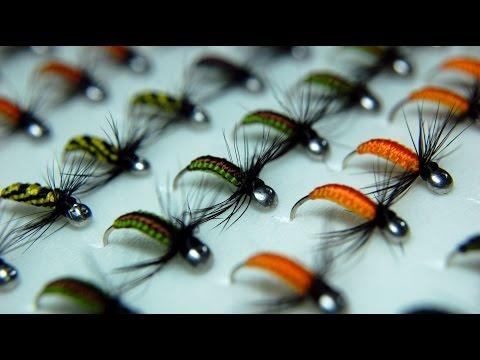 как плести мухи на хариуса видео