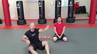 Guard Position - Double Scoop Pass Defense (Cosens Martial Arts)