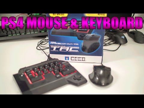PS4 MOUSE & KEYBOARD | HORI TAC4 In-Depth Review