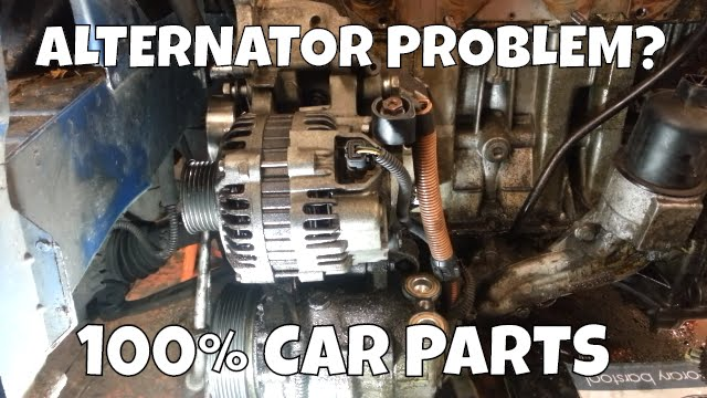 How To Change Replace Alternator Peugeot 206