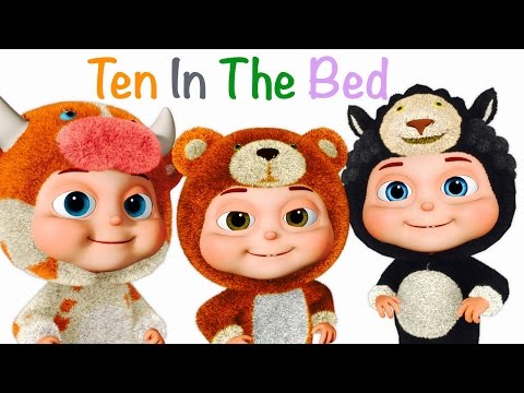 Thumbnail: Ten In The Bed | Many More Nursery Rhymes | Fancy Babies | Collection