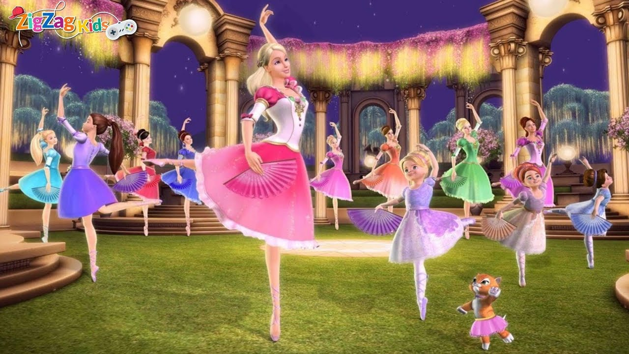 Barbie 12 Dancing Princess Dress up - yiv.Com - Free ...