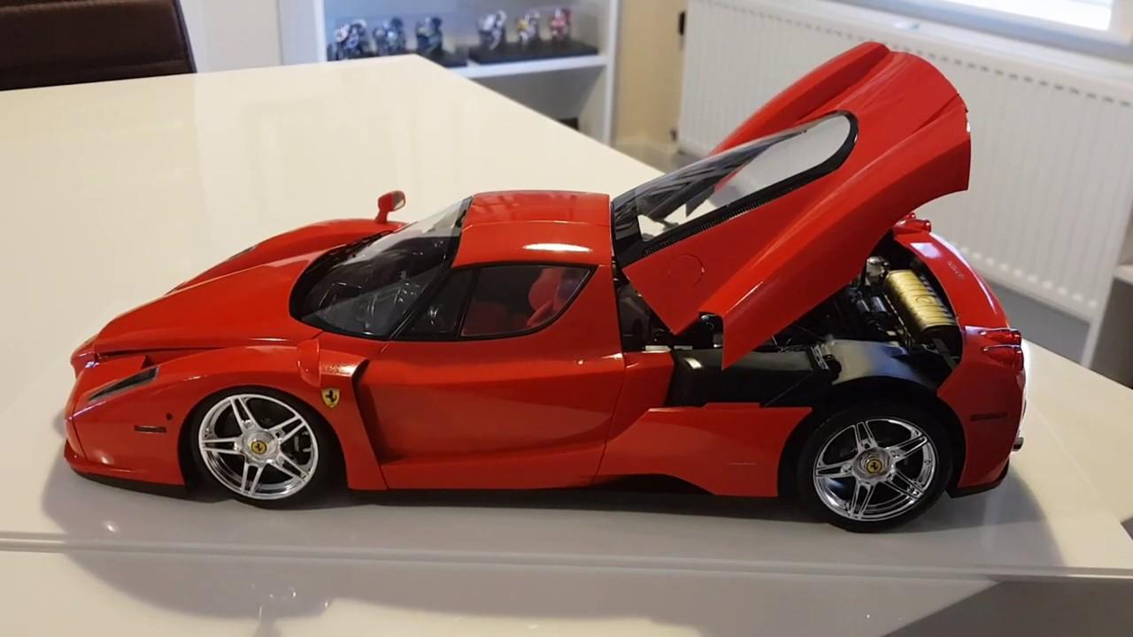 Tamiya 1 12 Enzo Ferrari Model Car Kit 12047 Youtube