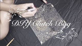 DIY Transparent Clutch Bag