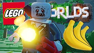 Lego Worlds | DYNAMITE AND BANANAS!! [#4]