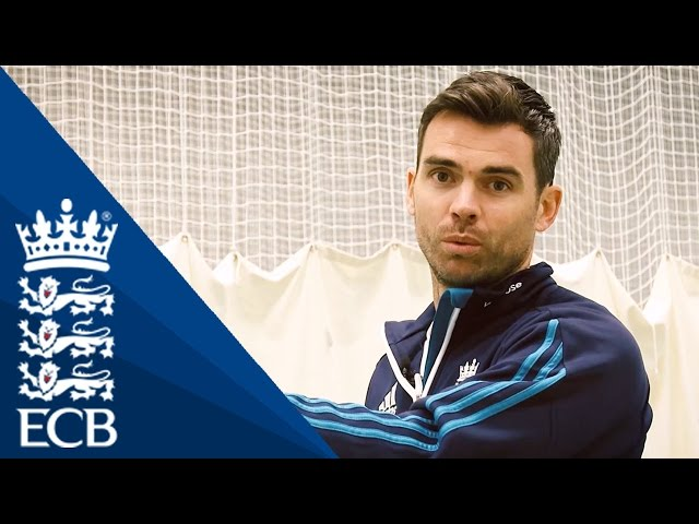James Anderson's Bowling Delivery - England Cricketing Tips