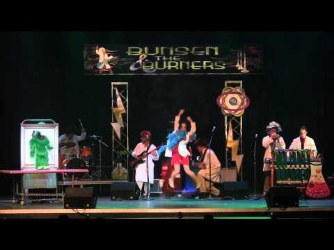 Bunsen & The Burners, Hersheypark Oct 2011