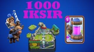 1000 IKSIR SALDIRISI | CLASH ROYALE HILESI! (link Var)