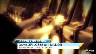 Florida woman loses $14 million on slots in Seminole casino(After watching this news report, how could anyone associated with the Seminole casino in Tampa not have known this woman was a gambling addict?, 2011-04-08T17:31:17.000Z)