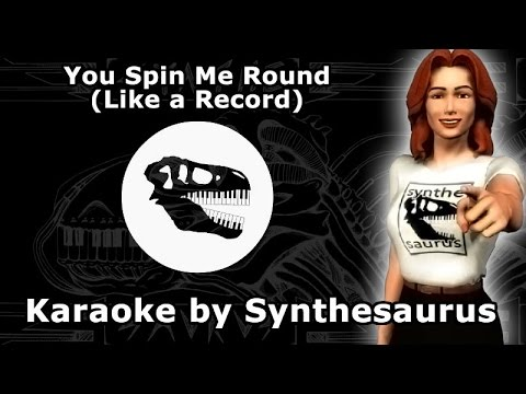 🎹 You Spin Me Round (Like a Record) | Dead or Alive karaoke instrumental