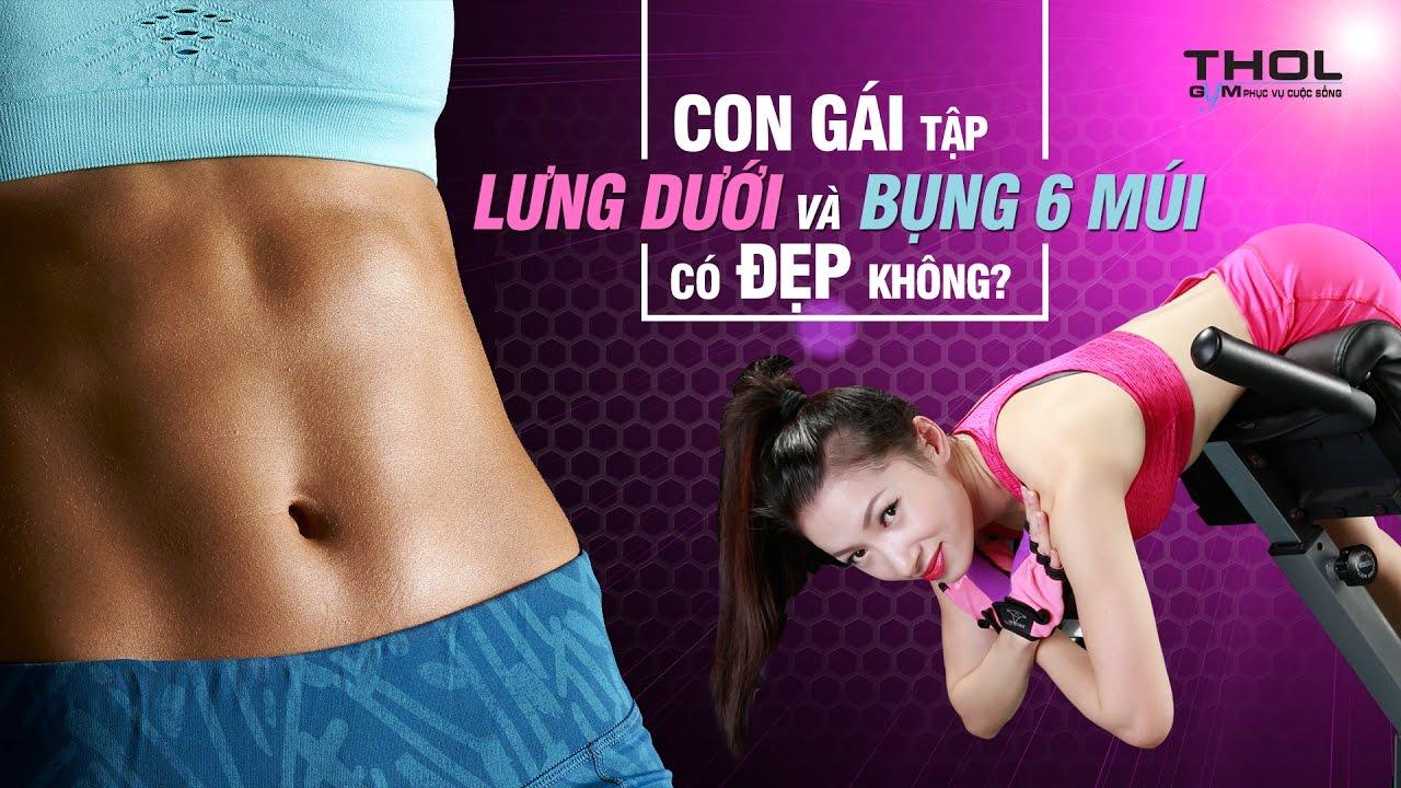 Bí quyết tập gym eo bụng siêu đẹp dành cho phái nữ