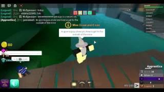 ROBLOX: como chegar ao exterior na mina em minas do Azure