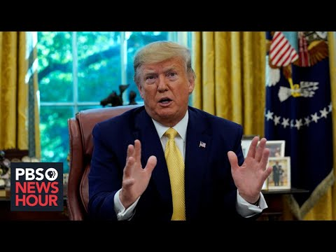 WATCH: Trump defends Syria withdrawal, calls for GOP to 'fight' Dems on impeachment