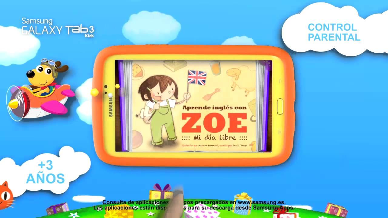 Tablet Infantil Samsung Galaxy Tab 3 Kids  YouTube