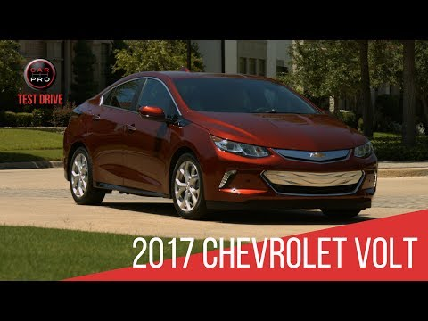 2017 Chevrolet Volt Test Drive