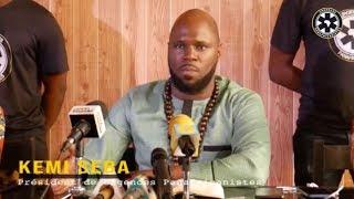 Eco-Franc Cfa : Kemi Seba appelle à la RESISTANCE