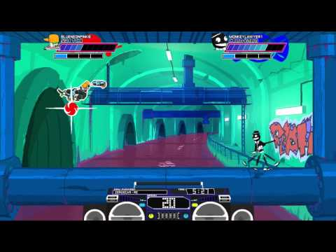 The Match of 1 Million Ball Speed (Lethal League)