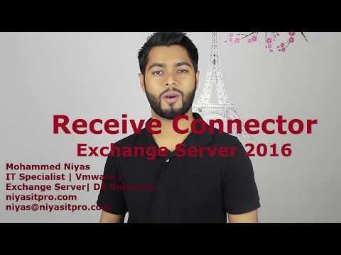 Microsoft Exchange 2016 - Receive Connector