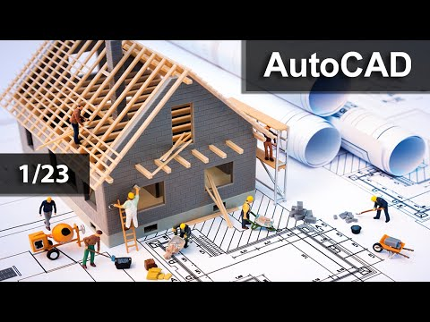 دورة أتوكاد كاملة للمبتدئين AutoCAD 2014