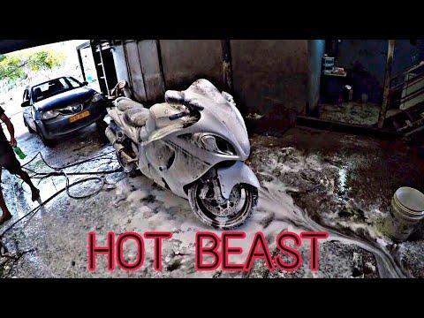 PAMPERING MY HOT BEAUTY HAYABUSA - RB MotoVlogs