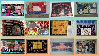 School Display Board Decoration For Diwali Oh Decor Curtain