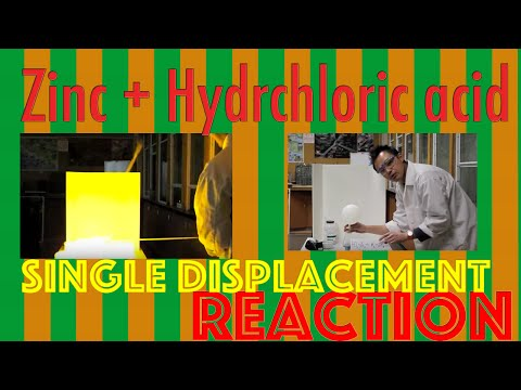 Zn + HCl In A Single Displacement Reaction