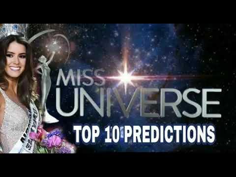Miss Universe 2018 2019 Predictions Top 10 Prediction