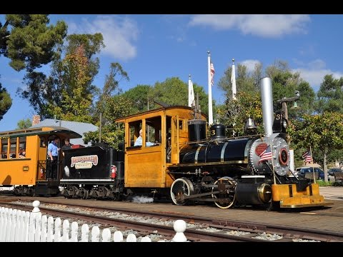 Old Poway Park Steam Train