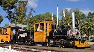 Old Poway Park Steam Train
