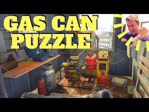 Metro Exodus - Gas Can Puzzle (Volga)
