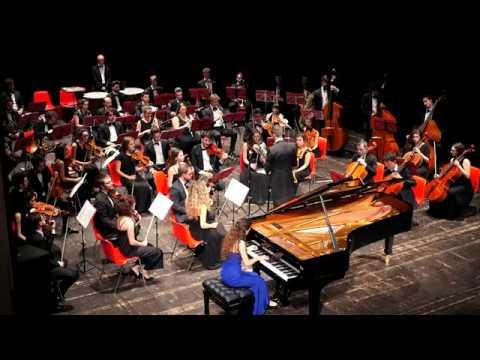 Sergej Rachmaninov Piano Concerto No. 3 ( 2nd - 3rd movement ) - Venice Chamber Orchestra