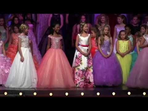 Crowning: Little Miss Princess of America 2016-Rhian McIntyre