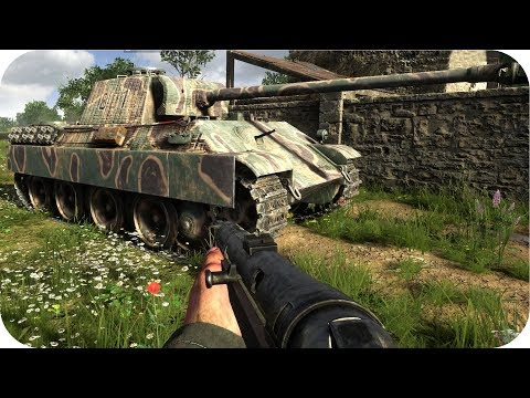 Panzerkommandant (Panther) | HELL LET LOOSE | 4K