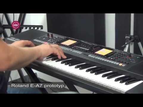Roland EA7 demo - Grand Piano sound Roland EA7