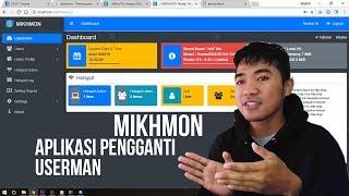 Mikhmon, Aplikasi Pengganti Userman