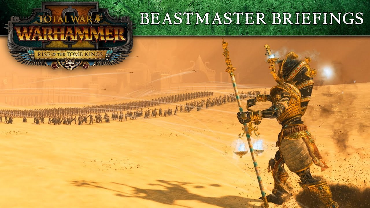 total warhammer 2 tomb kings guide