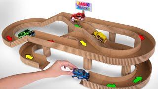 Cara Membuat Trek Balapan dari Kardus untuk Mobil Mainan