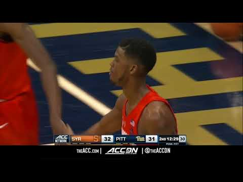 Syracuse vs Pittsburgh College Basketball Condensed Game 2018