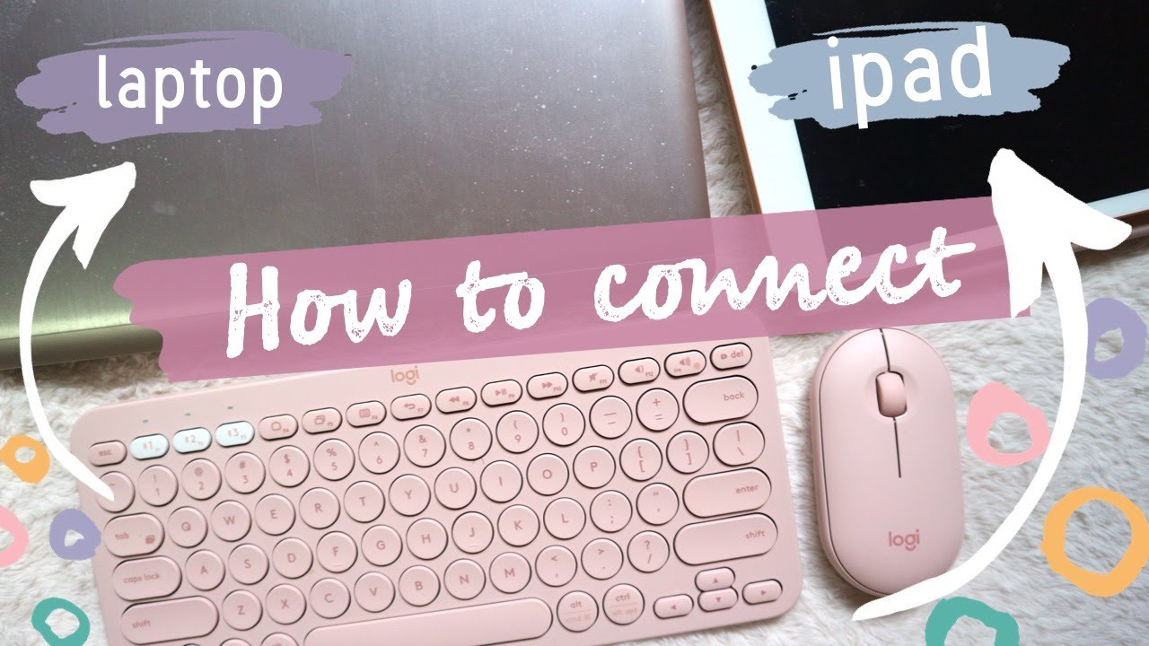 Aesthetic Ipad Accessories 2020 | How to Connect Logitech K380 Keyboard + Pebble Mouse