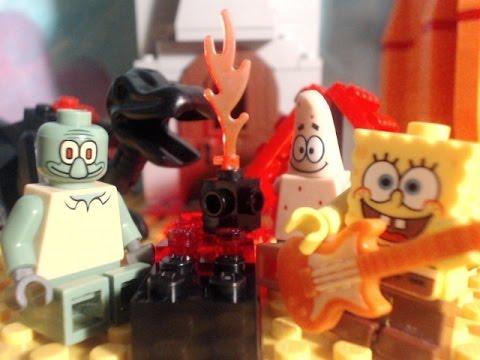 lego spongebob the camping episode