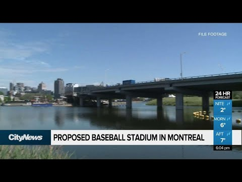 A new baseball stadium in Montreal