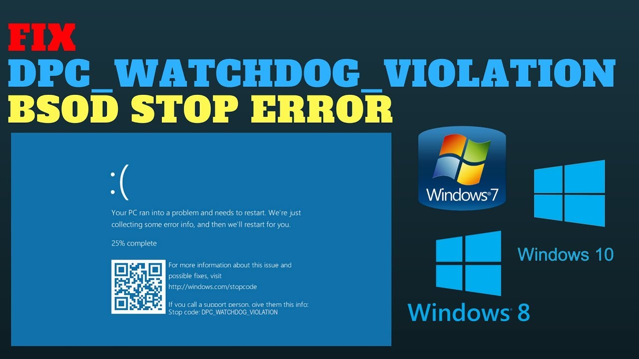 how to fix dpc watchdog violation