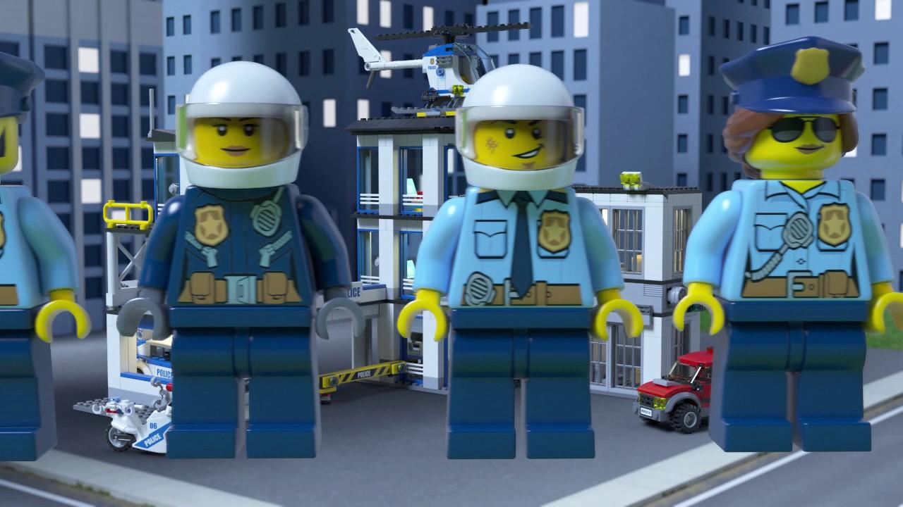 Lego City 60141 Secție De Poliție Youtube