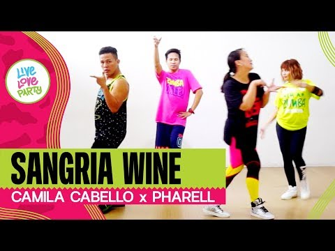 Sangria Wine By Pharrell Williams X Camila Cabello | Live Love Party™ | Zumba® | Dance Fitness