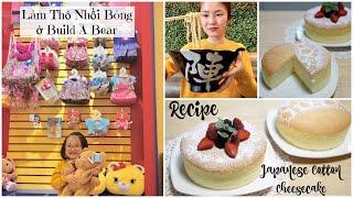 Cuối Tuần Đi Làm Thú Nhồi Bông ♥ Ăn Mì Ramen ♥ Nướng Bánh Phô Mai Nhật Bản | mattalehang